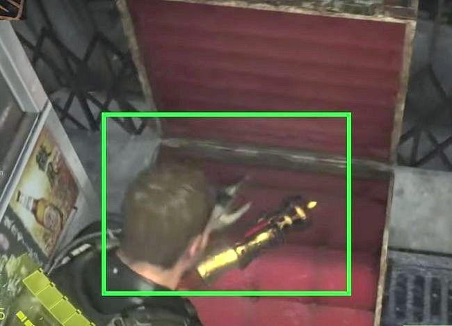 Prent getiteld Gebruik vaardigheidspunte in Resident Evil 6 Step 6