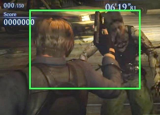 Prent getiteld Gebruik vaardigheidspunte in Resident Evil 6 Step 7