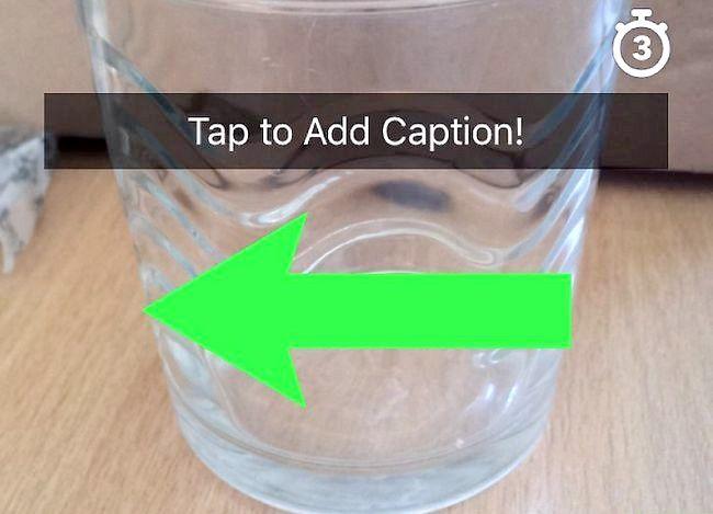 Prent getiteld Gebruik verskeie filters op Snapchat Stap 2