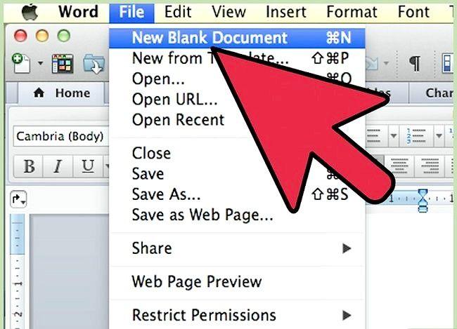 Prent getiteld Gebruik Microsoft Office Word 2007 Stap 11