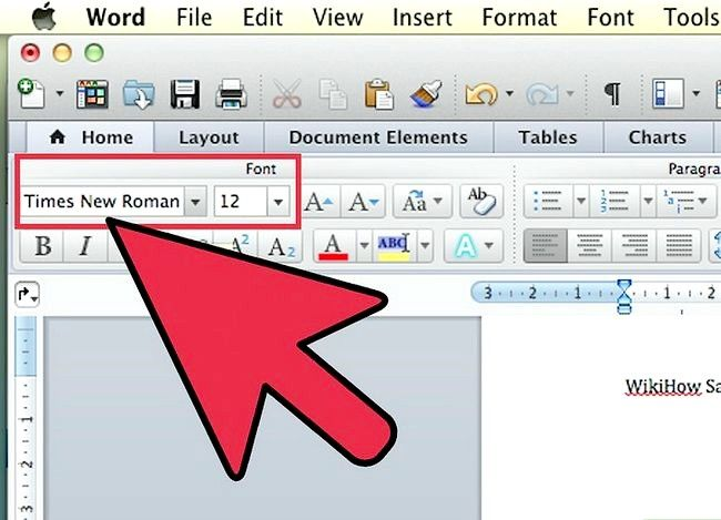 Prent getiteld Gebruik Microsoft Office Word 2007 Stap 15