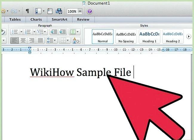 Prent getiteld Gebruik Microsoft Office Word 2007 Step 16