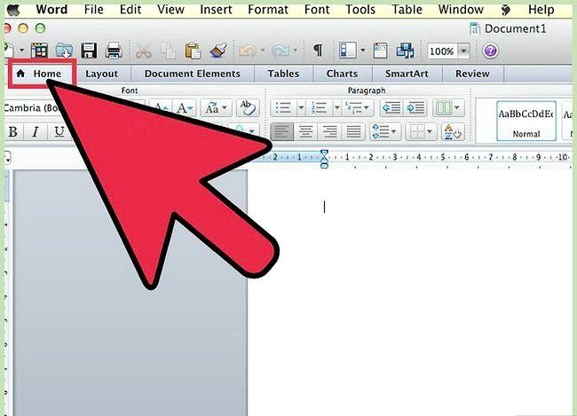 Prent getiteld Gebruik Microsoft Office Word 2007 Step 2