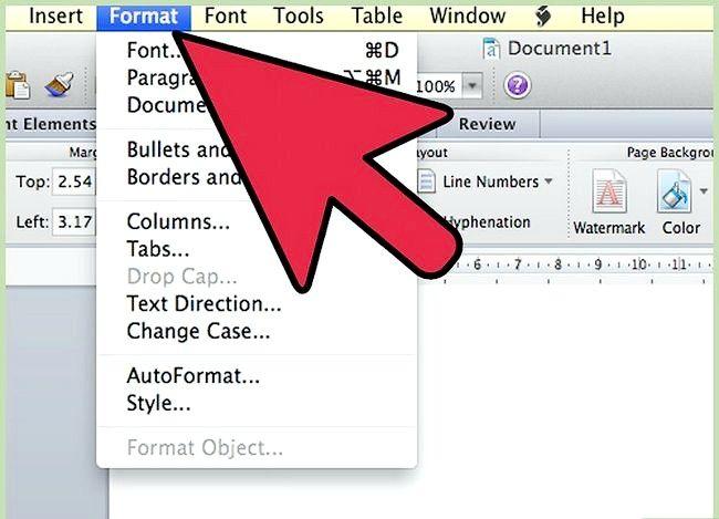 Prent getiteld Gebruik Microsoft Office Word 2007 Stap 9