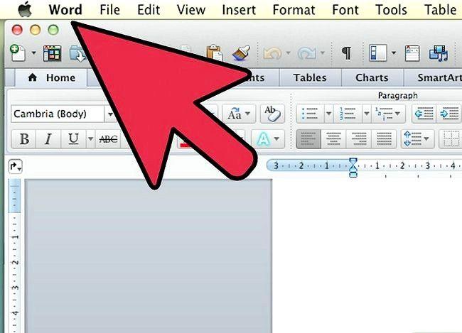 Prent getiteld Gebruik Microsoft Office Word 2007 Step 10