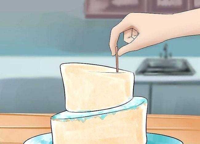 Prent getiteld Gebruik Topsy Turvy Cake Pans Stap 13