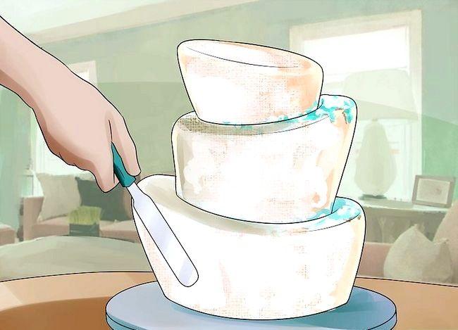 Prent getiteld Gebruik Topsy Turvy Cake Pans Stap 15