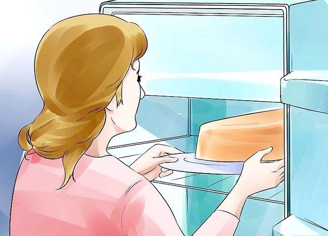 Prent getiteld Gebruik Topsy Turvy Cake Pans Stap 9