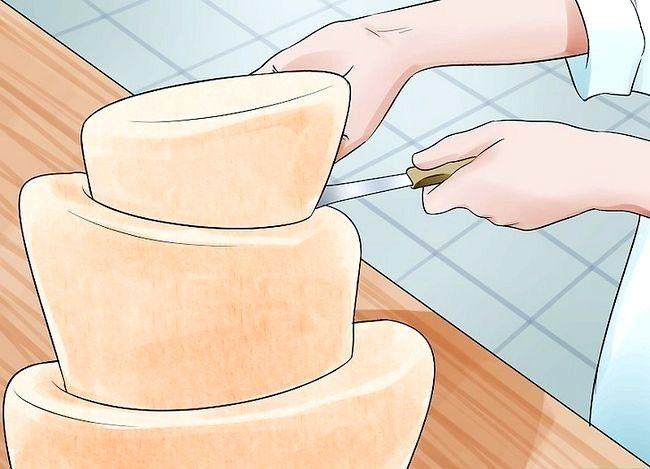 Prent getiteld Gebruik Topsy Turvy Cake Pans Stap 10