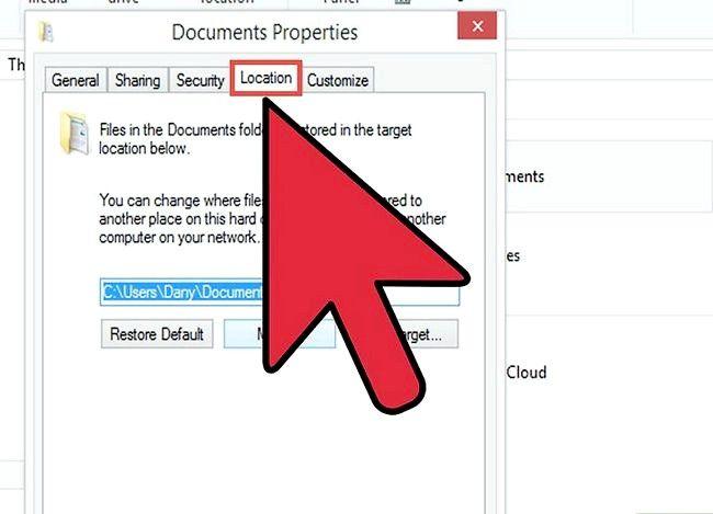 Prent getiteld Gebruik OneDrive as jou verstek stoor plek op Windows 8.1 Stap 3