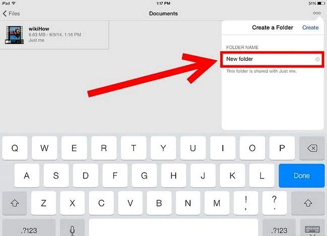 Prent getiteld Gebruik OneDrive op iOS Stap 11