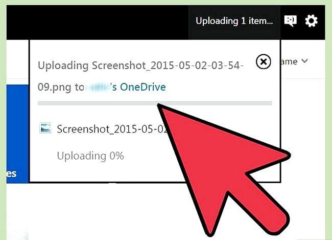 Prent titel Gebruik OneDrive in Windows Stap 15