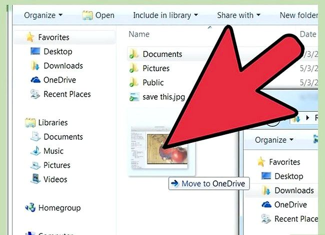 Prent titel Gebruik OneDrive in Windows Stap 6