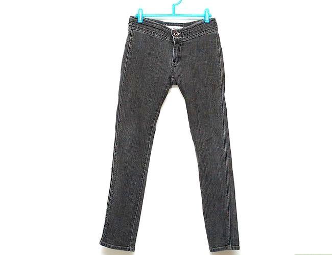 Prent getiteld Dra Skinny Jeans Stap 3