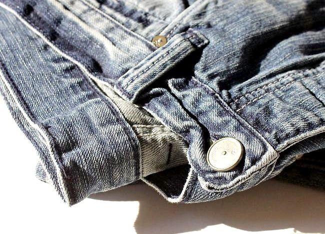 Prent getiteld Dra jeans om te werk Stap 13