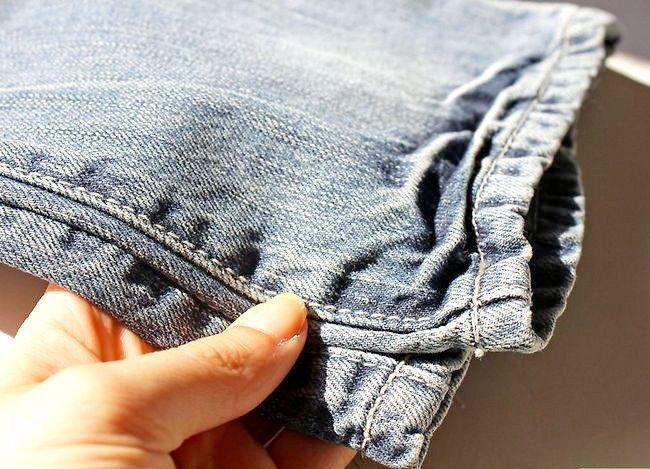 Prent getiteld Dra jeans om te werk Stap 14