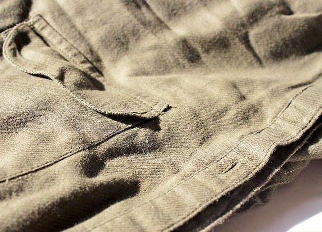 Prent getiteld Dra jeans om te werk Stap 16