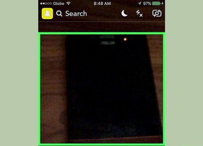Prent getiteld Gebruik Shazam in Snapchat Stap 3