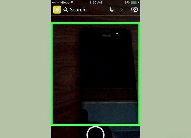 Prent getiteld Gebruik Shazam in Snapchat Stap 4