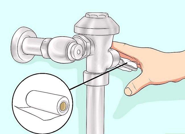 Prent getiteld Gebruik `n openbare toilet Stap 2