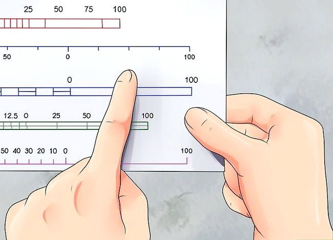 Prent getiteld Gebruik `n kaart Stap 3