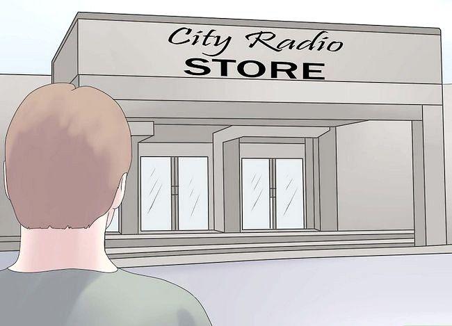 Hoe om `n kortgolfradio te gebruik