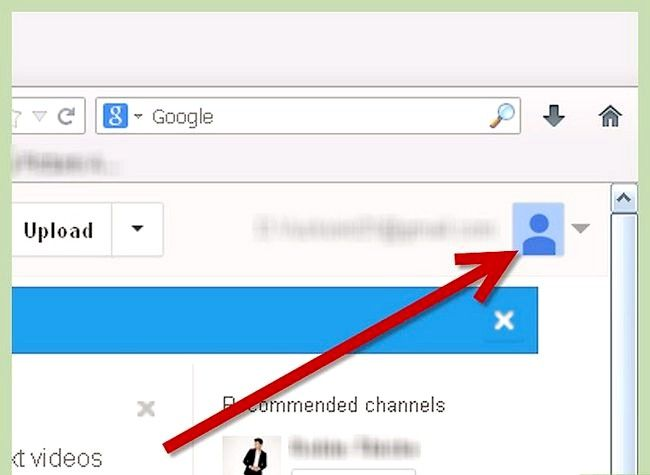 Prent getiteld Gebruik `n prent as jou YouTube-profiel agtergrond Stap 1