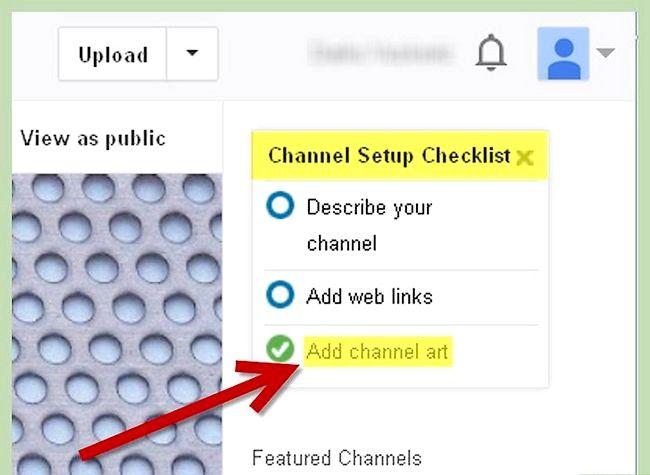Prent getiteld Gebruik `n foto as jou YouTube Profiel Agtergrond Stap 3