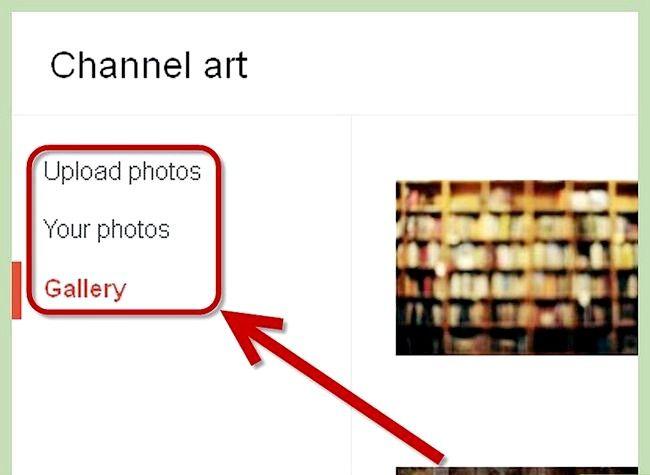 Prent getiteld Gebruik `n foto as jou YouTube Profiel Agtergrond Stap 4