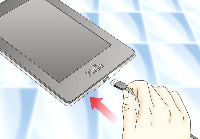 Prent getiteld Gebruik `n Kindle Fire HD Stap 2