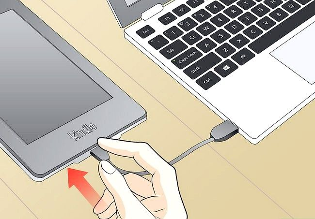Prent getiteld Gebruik `n Kindle Fire HD Stap 7