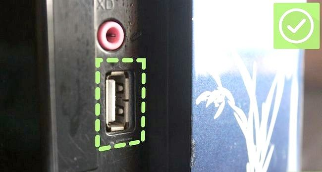 Prent getiteld Gebruik `n USB Flash Drive Stap 1