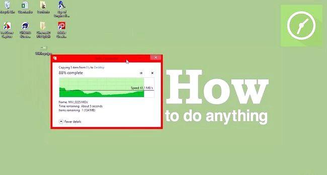 Prent getiteld Gebruik `n USB Flash Drive Stap 4