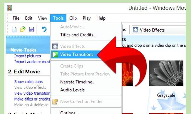 Prent getiteld Gebruik Greenscreen op Windows Movie Maker Stap 12