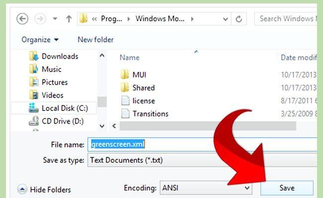 Prent getiteld Gebruik Greenscreen op Windows Movie Maker Stap 7