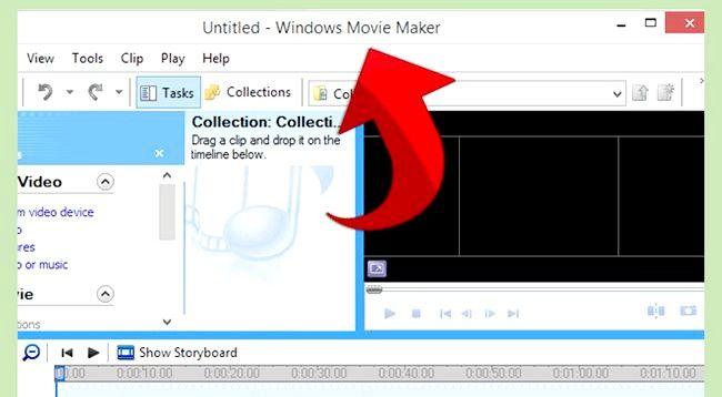 Prent getiteld Gebruik Greenscreen op Windows Movie Maker Stap 8