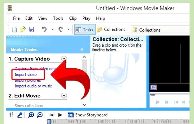 Prent getiteld Gebruik Greenscreen op Windows Movie Maker Stap 9