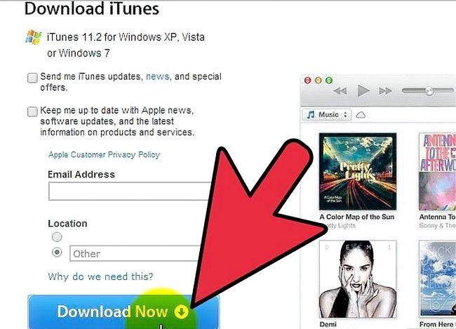 Prent getiteld Gebruik `n iTunes-geskenkkaart Stap 1