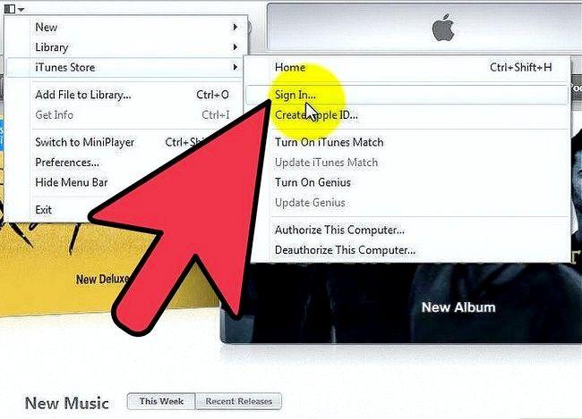 Beeld getiteld Gebruik `n iTunes-geskenkkaart Stap 4