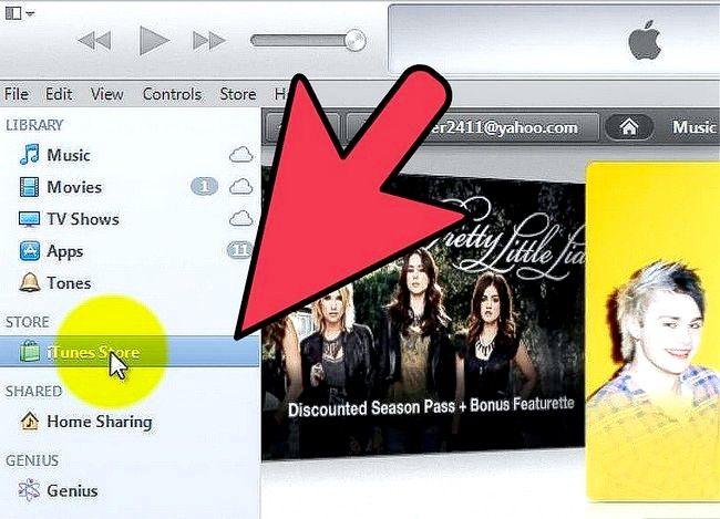 Prent getiteld Gebruik `n iTunes-geskenkkaart Stap 6