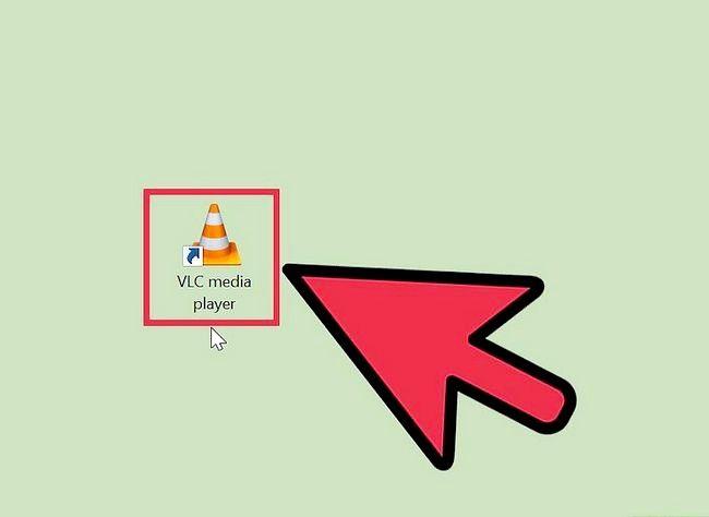 Prent getiteld Gebruik VLC Media Player om na Internet Radio Stap 1 te luister