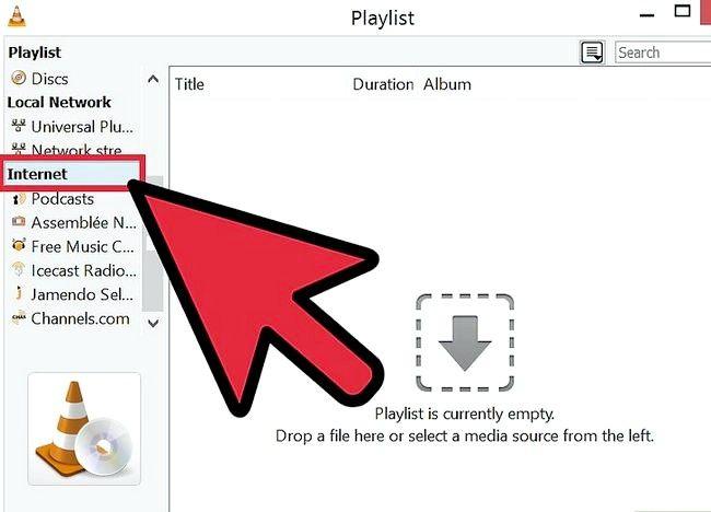 Prent getiteld Gebruik VLC Media Player om na Internet Radio Stap 7 te luister