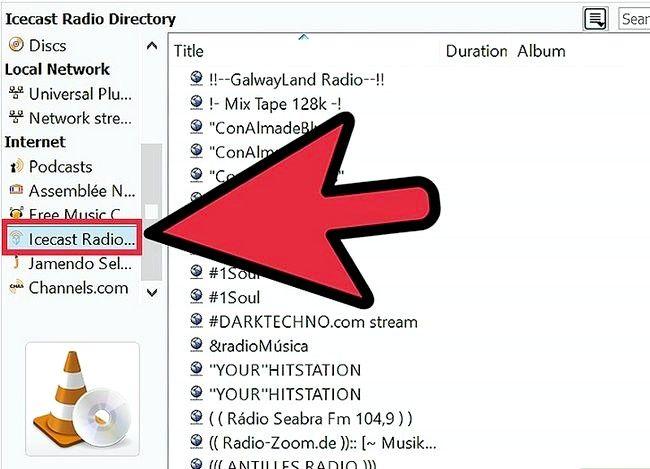 Prent getiteld Gebruik VLC Media Player om na Internet Radio Stap 9 te luister