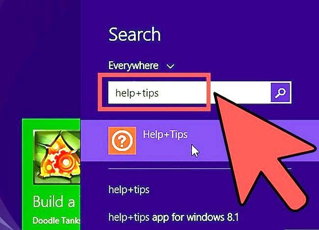 Prent getiteld Gebruik Windows 8.1 Stap 6