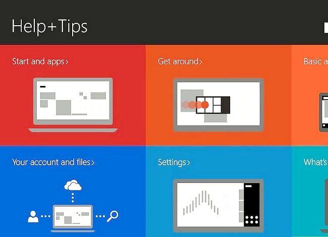 Prent getiteld Gebruik Windows 8.1 Stap 7