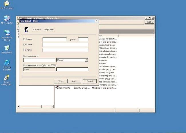 Prent getiteld Gebruik Windows Server 2003 Stap 4