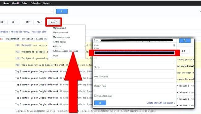 Prent getiteld Use Plus Addressing in Gmail Stap 5