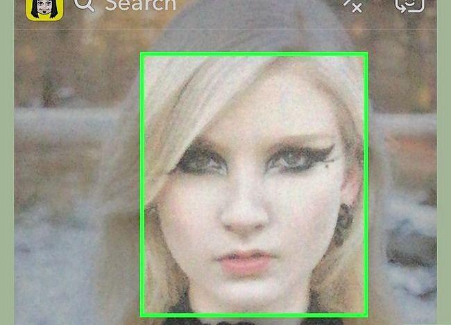 Prent getiteld Doen die Puppy Face op Snapchat Stap 3