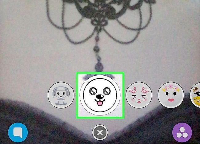 Prent getiteld Doen die Puppy Face op Snapchat Stap 6