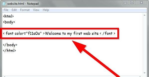 Prent getiteld Gebruik eenvoudige HTML-formaat Stap 11